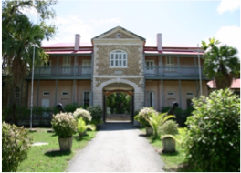 BARBADOS MUSEUM & HISTORICAL SOCIETY    Located at the heart of Bridgetown's UNESCO World Heritage Site, the Garrison, the museum is housed in a historic 19th century military prison buildings and highlights the country's rich heritage, culture and history.