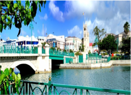 BRIDGETOWN    Barbados' capital and commercial centre was established back in 1628 and was originally named Indian Bridge, due to the bridge that the Indians had constructed over the river, and then St Michael, before being named Bridgetown.