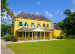 """GEORGE WASHINGTON HOUSE & MUSEUM    Also known as Bush Hill House, this historic plantation house was home to George Washington and his brother for two months, back in 1751. Barbados is the only country that the """"First Father""""-to-be ever visited, and Bush Hill the only house he ever lived in outside of the continental United States."""