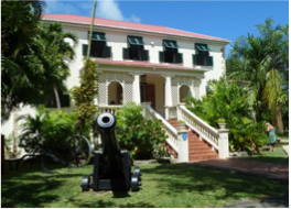 SUNBURY PLANTATION HOUSE    Sunbury is Barbados' only Great House where all rooms are available for viewing. It was built around 1660 by Irish/English planter Matthew Chapman, who was one of the country's first settlers and was also related to the Earl of Carlisle, an association that granted him lands on the island. The historical building has a selection of old artefacts, antiques and artwork for visitors to admire.