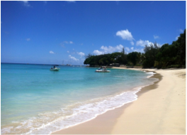 """SANDY LANE BEACH    Sandy Lane Beach has to be on all visitors' list of best things to do in Barbados. Widely known as the """"Sandy Lane"""" beach, this magnificent stretch takes its name from the luxurious Sandy Lane Hotel which is nestled directly off this beach. First opened in 1961, this famous hotel is known as one of the finest resorts in the Caribbean, and over the years has welcomed royalty, celebrities, and the business elite; Tiger Woods was married here."""
