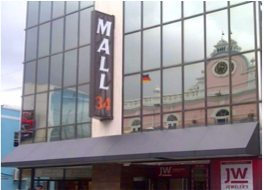 MALL 34   Located in the middle of Broadstreet, this shopping centre offers a variety of retail stores as well as a few duty-free jewellery and gift stores.
