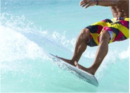 BODY BOARDING & SURFING   If you're looking to ride the island's best waves, go to Wariruri, near the collapsed Natural Bridge, or in Dos Playa where the waves are more powerful and shallow. Other popular spots include Andicuri, Boca Grandi, Arashi Beach, and Nanki Reef.