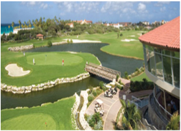 DIVI LINKS GOLF COURSE   In Oranjestad, this narrow 9 hole-course provides challenge and entertainment, with the wind often leading the ball in an unintended direction, making it a very satisfying game when managing to land the ball.