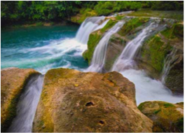 RIO BLANCO NATIONAL PARK    A short hike through the national park takes you to one of the area's largest waterfalls, one that features a deep limestone pool where you can cool off after your walk, and take the time to take in the beauty of this site.