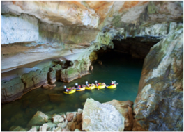 NOHOCK CHE'EN CAVES BRANCH ARCHEOLOGICAL RESERVE    Join one of the daily tours taking you through the Caves Branch River, home to caves that the ancient Maya population considered as sacred.