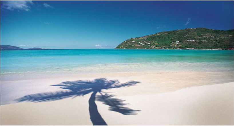 CANE GARDEN BAY (TORTOLA)   Over the mountain and close to Road Town you will find stunning views of Cane Garden Bay; a long, sweeping curve of sand by lush green...  More