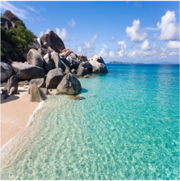 SPRING BAY BEACH   (VIRGIN GORDA)   Crystalline waters and picturesque boulders compose the beauty of this lovely...  More
