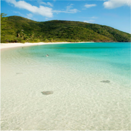 WHITE BAY BEACH     (JOST VAN DYKE)   This long stretch of white sand was voted one of the world's top ten beaches by...  More