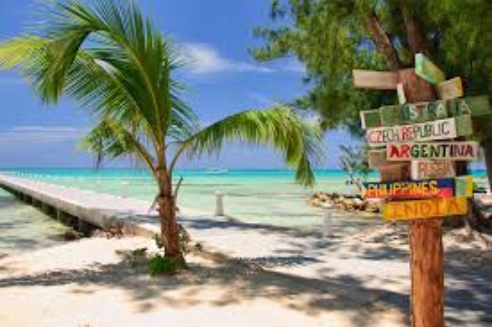 RUM POINT    Rum Point on the pretty North Side of Grand Cayman,has something for everyone...  More
