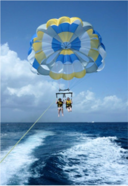 PARASAILING    An exciting water-based activity that enables you to view the islands from a bird's point of view, with an added dose of adrenaline. Grab you waterproof action camera and record what you'll find out to be some of the best views of the country.