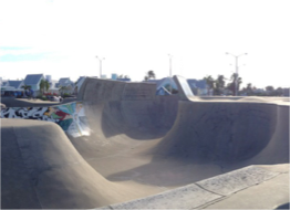 BLACK PEARL SKATEPARK    Maybe not the first thing that springs to mind when you imagine your Caribbean holiday, but at 62,000 square feet, Black Pearl Skatepark is the second largest in the world! Keen skaters can take on the entire park or choose individual sections like the roundwalls, a deathbox, pockets, stairs, verts, thumbs to name a few.