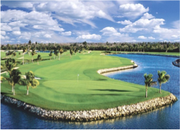 NORTH SOUND CLUB    Located right off the North Sound, this Club features the country's only 18-hole Championship course and is easily accessible from Seven Mile Beach. Onsite facilities include a pro-shop, driving range, and an outdoor bar, and the likes of iguanas, birds and small lizards may join you during the game.
