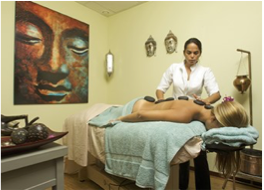 """SANTAI SPA AT AVILA BEACH HOTEL   Named after the Indonesian word for """"relaxation"""", this spa offers a variety of treatments to be enjoyed on your own, or as a pair."""