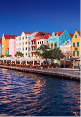PUNDA   With a variety of reputed stores selling high quality goods from around the world, a reflection of Punda's traditional position as Willemstad's main shopping area, as it is there that international trade would historically take place, across the now exclusively pedestrian area which, alongside its many terraces, creates a relaxed and enjoyable shopping experience.