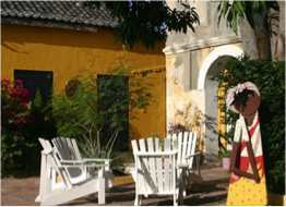 """GALLERY ALMA BLOU   Featuring authentic Curaçao and Caribbean art, this gallery is also the country's oldest and largest. Its name translate from papiamentu as """"Gallery of the Blue Soul"""". Located in the 18th century Landhuis Habaai, it features the work of local and foreign artists inspired by Curaçao's culture and natural beauty."""