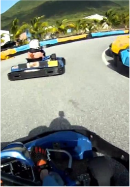 COCONUT TREE'S GO KARTING    Located in St Martin, this Go Karting welcomes drivers as young as 7 years old. A fun activity to enjoy with the whole family, if you're looking for an entertaining break from the beach.