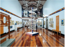 MASTERWORKS MUSEUM OF BERMUDA ART   If the Arts Centre has left you hungry for more, head to this museum and experience Bermuda through the eyes of traditional and contemporary artists such as Georgia O'Keeffe.
