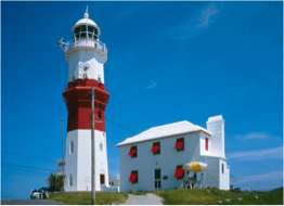 ST DAVID'S LIGHTHOUSE   Built in Bermuda stone and lit for the first time in 1879, this 22 metres tall landmark is still operating to this day. Climb up for beautiful views of the island.