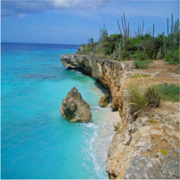 PLAYA FRANS   Located at the North of the island, this secluded beach offers a mix of soft...  More