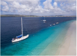 BOATING & SAILING   With a beautiful coastline to explore and marine wildlife to discover, boating is a popular activity in Bonaire and one that can be enjoyed via the many operators dotted around the island, whether you're looking to rent your own boat, take a snorkelling excursion to Klein Bonaire, or hop on a glass-bottom boat tour.
