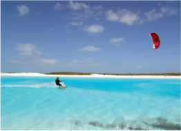 KITESURFING   Keen kitesurfers will find Bonaire's best kiteboarding spots on the island's southwestern tip, with ideal year-round conditions. Kiteboarding lessons are also widely available for novice and beginners.