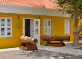 TERRAMAR MUSEUM   Located in Kralendijk, in one of the island's few remaining historic building, this historical and archaeological museum features exhibits, artifacts, and tales covering 7,000 years of Caribbean and Bonairean history.