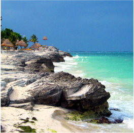 "PLAYA TORTUGAS   A popular local weekend hangout, the ""turtle beach"" offers beautiful turquoise...  More"
