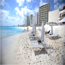 PLAYA GAVIOTA AZUL   Located near the heart of Cancun's Hotel Zone, this popular beach offers...  More
