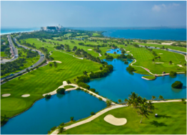 IBEROSTAR GOLF CLUB   Spreading over 150 acres of lush tropical vegetation, this 18-Hole, Par 72 Championship golf course at Iberostar Golf Club Cancun offers a challenging and enjoyable game at the heart of an ancient Mayan site.