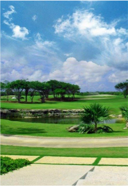 TPC CANCUN COUNTRY CLUB   The TPC club features two 18-hole courses, one designed by Nick Price, and the other designed by world-renowned Tom Fazio.Cancun Country Club will consist of two 18-hole courses – one designed by Tom Fazio, considered to be one of the world's great golf design architects and one by Nick Price. The Grand Opening will be during Winter 2008/2009.