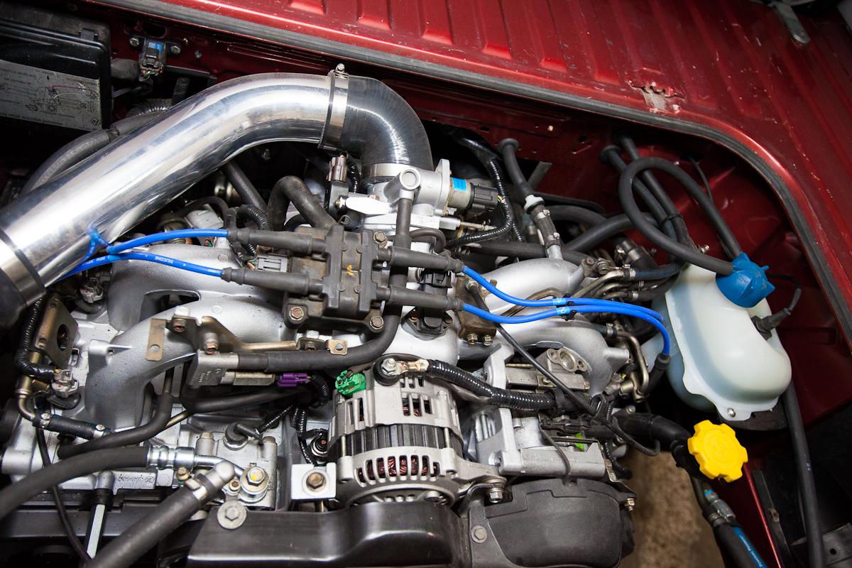 Engine Conversions Peace Vans Subaru Ej22 Wiring Harness Customization 45