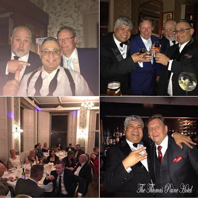 On behalf of all of us here at The Thomas Paine Hotel, we'd like to say a huge thank you to everyone who came along to our Charity dinner on Friday. It was a fantastic evening and we raised a whopping £1,000 for Thetford and District Dementia Support and East Anglia's Children's Hospices.  A special thank you to Marcus Horrell for his generous, last minute donation which helped us reach the £1000 total and thank you to Andrew Grey for all your help organising the event. ✨ We'd also like to thank our lovely guests Ryan Walsh, Ricky Groves, Cliff Parisi and Liz Munroe.  We look forward to welcoming you all again very soon 😊  Many thanks to Brian Rutterford, Andrew Maund Bmw Lancaster Bury St Edmunds, Thetford Golf club, Cotswold House Hotel, Adnams Breweries and all other donations.
