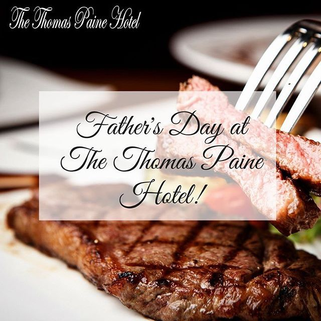 Father's Day is creeping up on us, ladies and gentlemen!🙌🏼Let's show our dads our appreciation! Celebrate Father's Day with us at the Thomas Paine Hotel on 17th June, and all Dads will receive a free 12oz Rump Steak with all the trimmings! (minimum of 4 people).