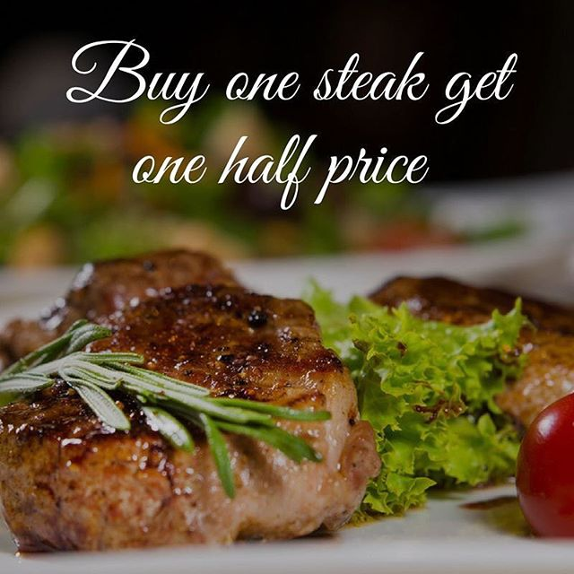 We're thrilled to be serving you the very best quality meat, the Rutterford Herd of British Longhorn Cattle. Which is why we are running a special offer throughout May.. Buy one Longhorn beef steak and get another half price! (Rump steak only) Don't miss out on this fantastic offer, call 01842 750 372 to book a table.