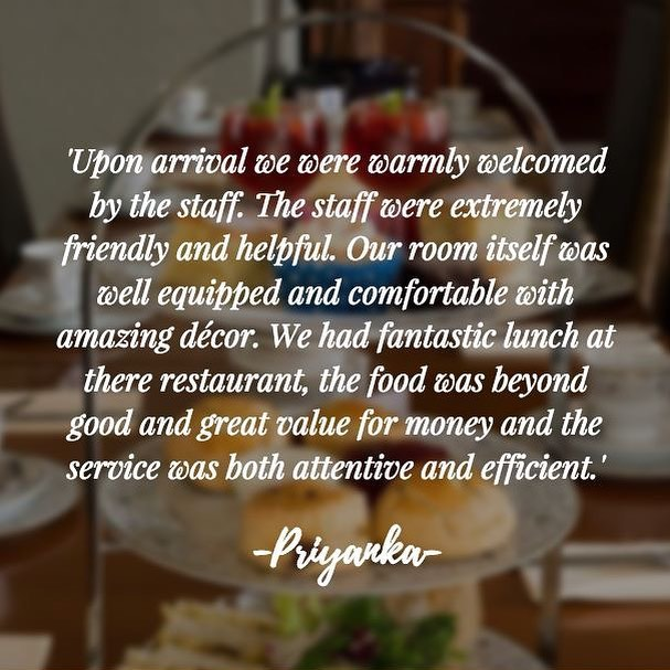 #TestimonialTime!✨ Thank-you so much to Priyanka for this kind 5* review of The Thomas Paine Hotel! We hope to see you again soon!