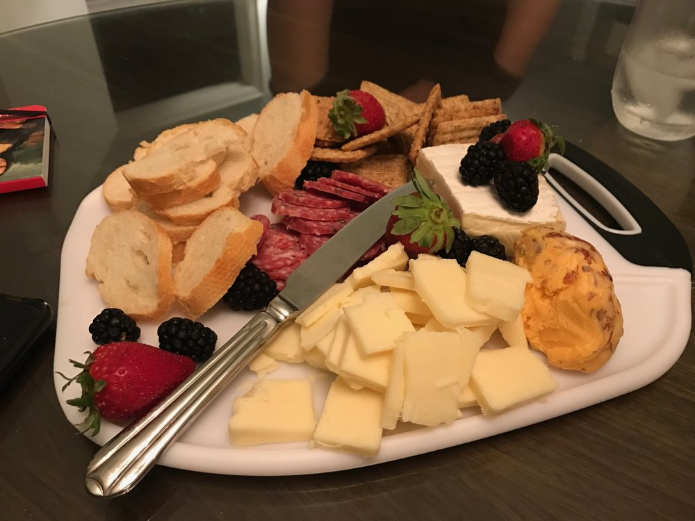 This was the first cheese plate of the year created in our room at The Ritz Carlton in Key Biscayne Florida. The Good Grips cutting board gave it a more ... & A Year of Cheese Plates \u2014 GIRLVETICA