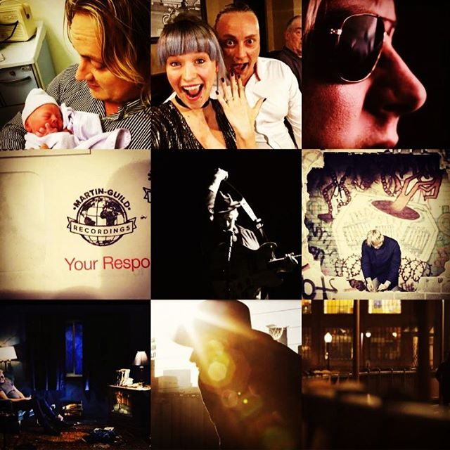 #2017 Has definitely been the best year of my life. Not only did I reach cult status and release an #album , we had the most #photogenic #babyboy on #instagram! And we got #engaged Making me the #coolestdad ever This is a look back at all the massive moments this year with my #2017bestnine