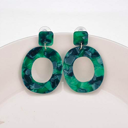 Amazon Acrylic Earrings