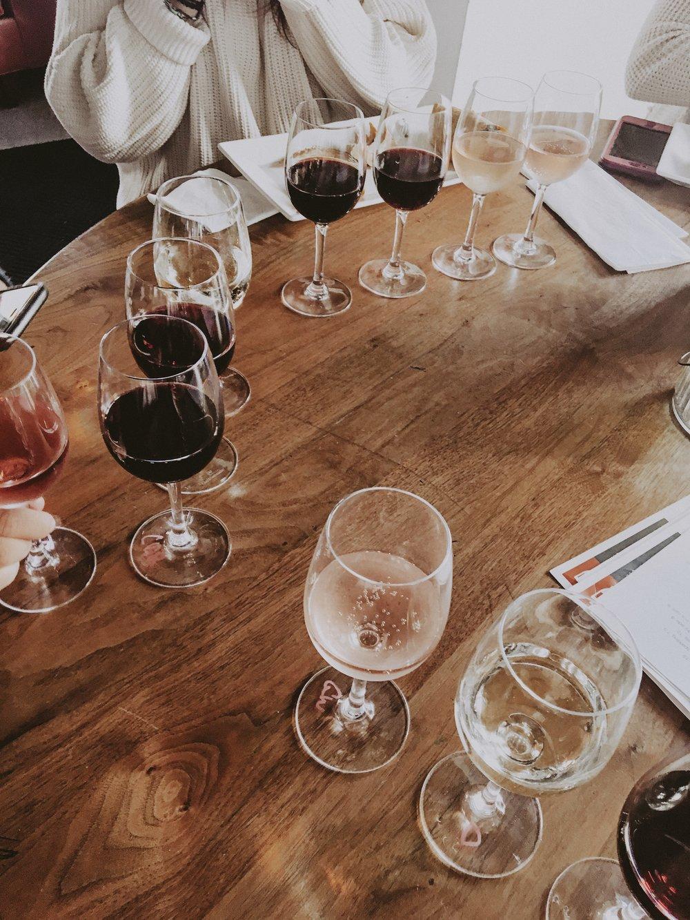 Sante's wine bar
