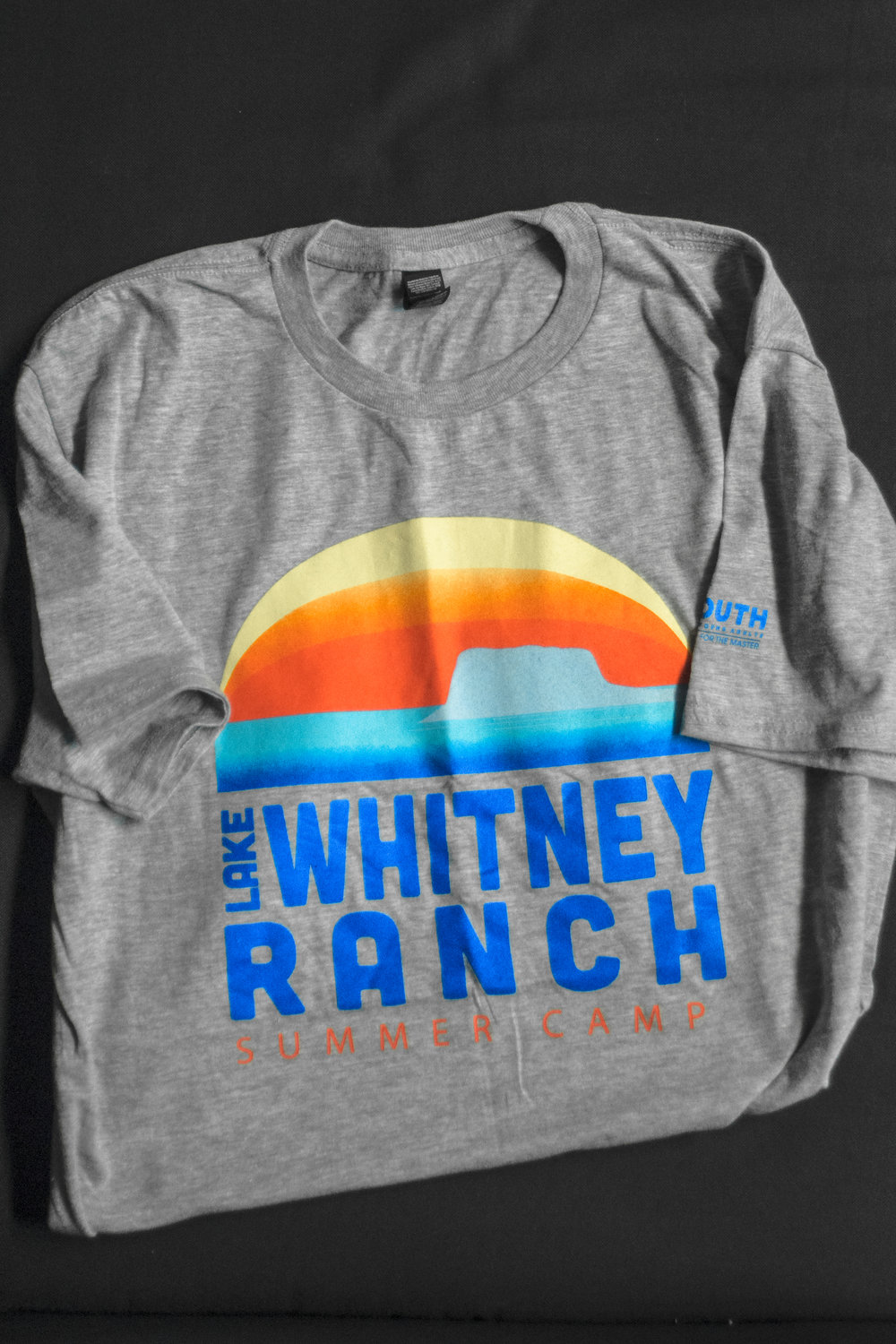 LAKE WHITNEY -  SUNSET TEE    $10.00