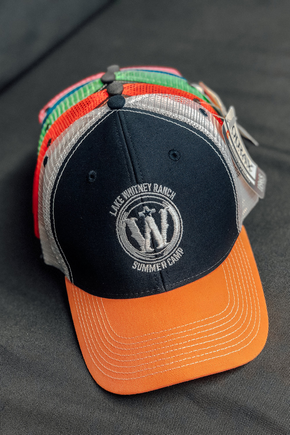 LAKE WHITNEY -  SUMMER CAMP HAT    $15.00