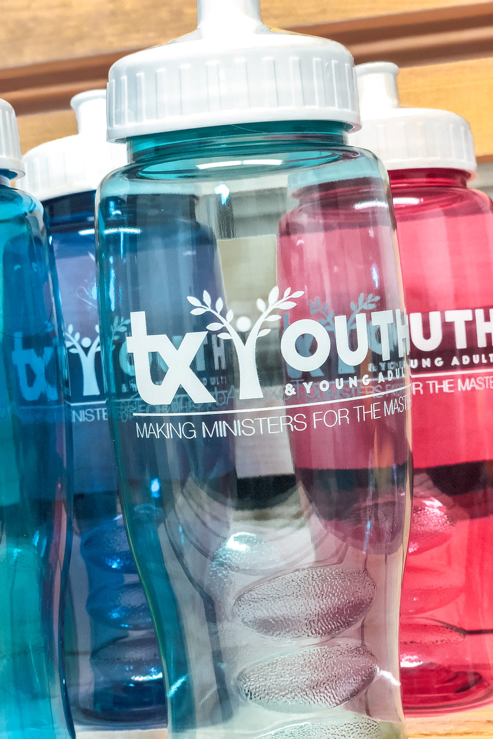 TX YOUTH -  PLASTIC BOTTLE    $5.00ea | 25+ qty $3.00ea