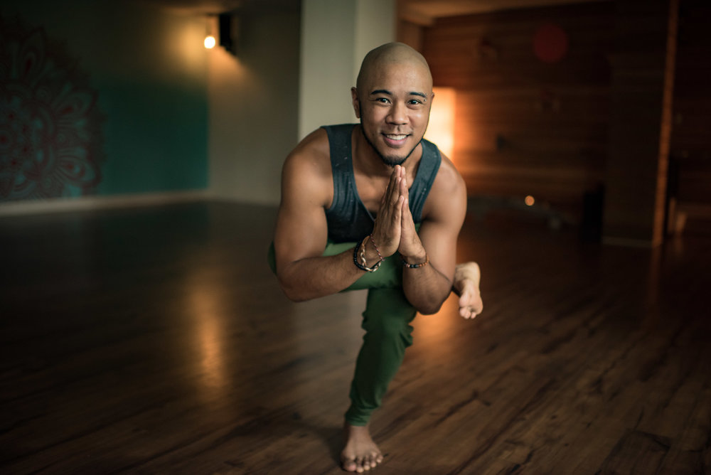 ERIC RABENA - fluid vinyasa instructor