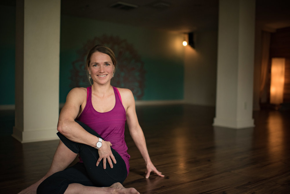 YVONNE KRAUS - traditional hatha, restorative, and power vinyasa instructor
