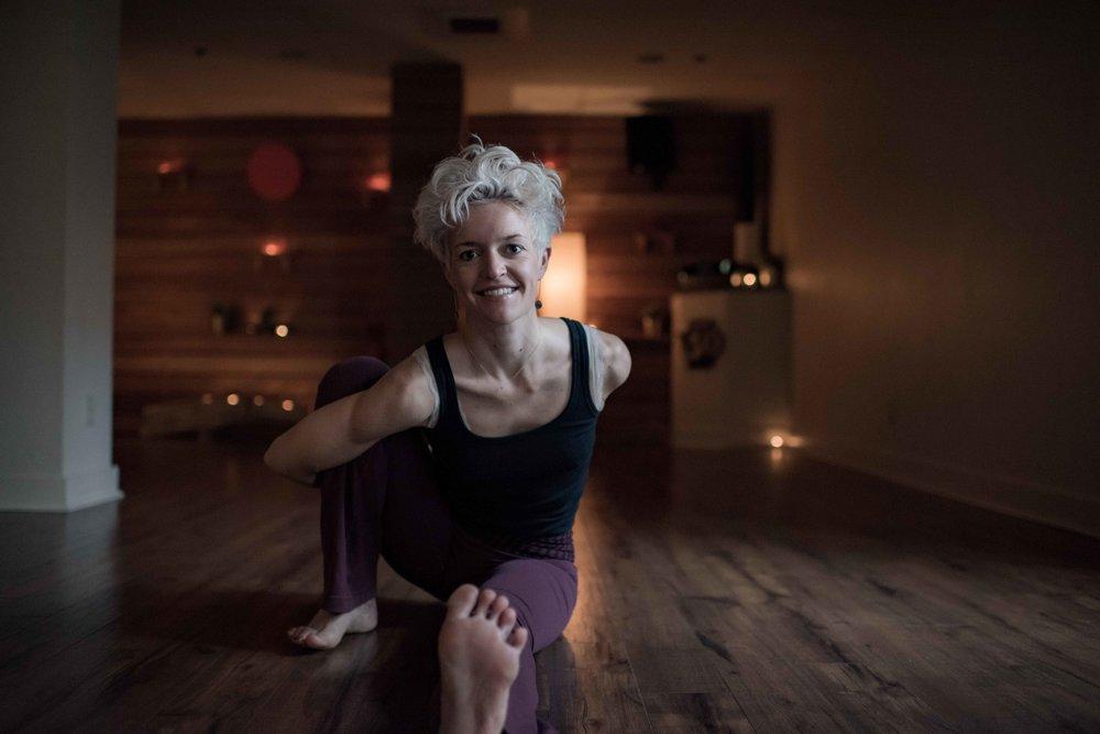 Vanessa payne - power vinyasa and yin instructor
