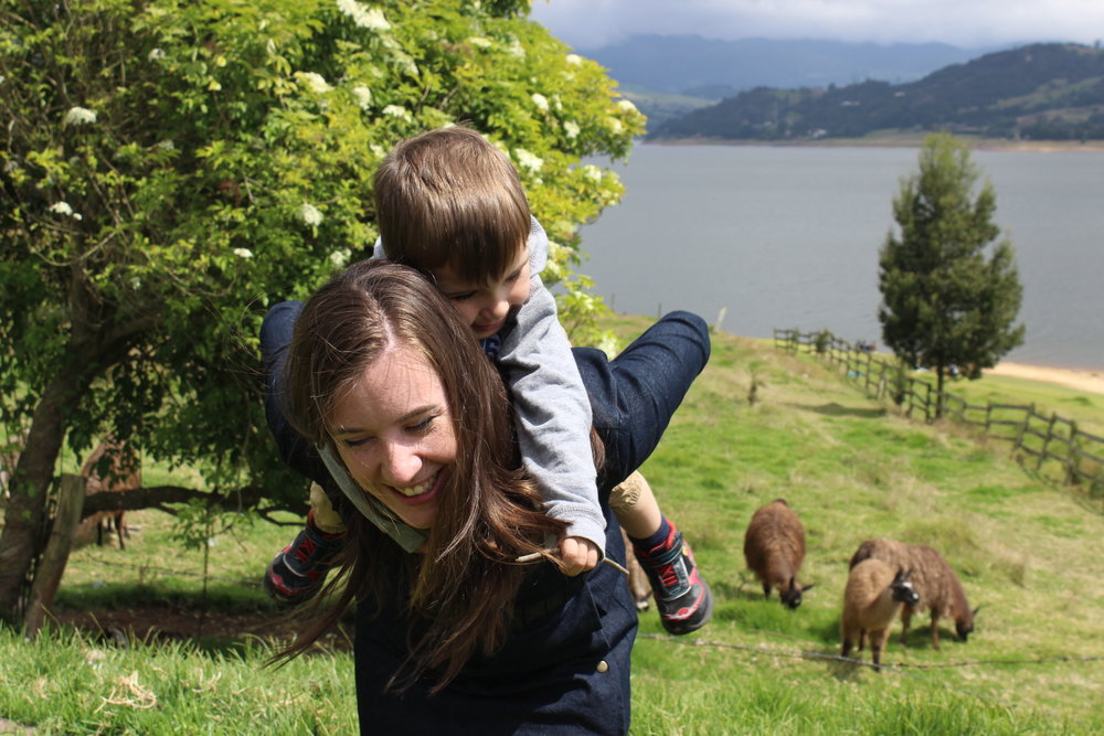 A recent Family vacation Outside of Bogota.