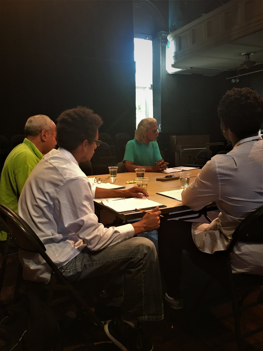 Jaymes Jorsling's Tripping Over Roots has a first table read at Rites and Reason Theatre -