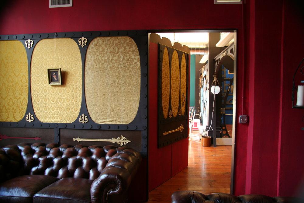 A hidden lounge.