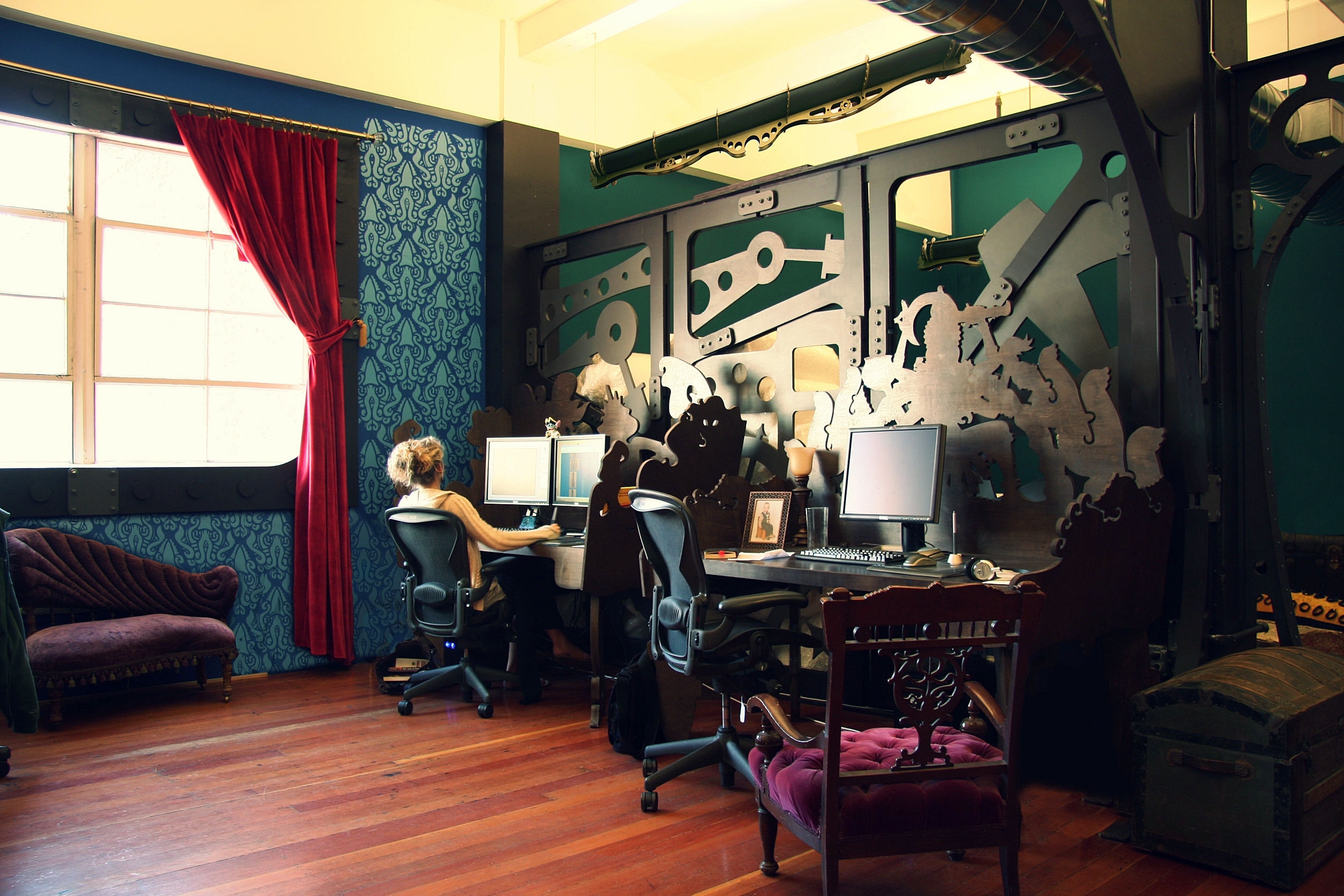 three rings office. Modren Office Individually Customized Desks Built With Wondrous Designs And Three Rings Office U